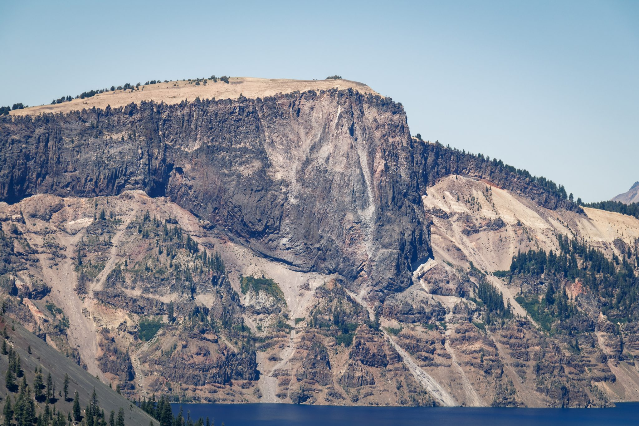 Crater Lake Llao Rock